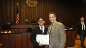 Darwin Ubillus & Ted Ciuba together on Naturalization Day 24 Feb 2012