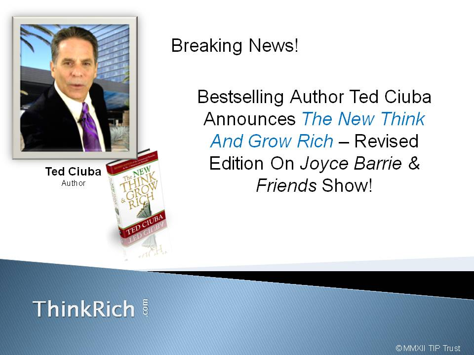 Breaking News! The New Think And Grow Rich – Quantum Version Now Available