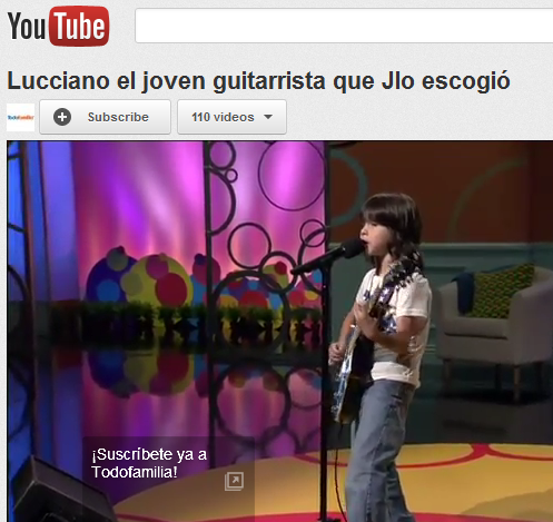 The Young Guitar Prodigy, Lucciano – So Good It Makes Me Cry