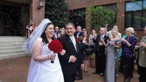 The Newlyweds 2012 03 31 Michael & Alysha Wojciechowski * St Edwards Church, Nashville TN