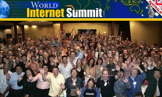 World Internet Summit, entrepreneurial internet marketing training - Singapore training