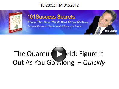 The Quantum World: Figure It Out As You Go Along