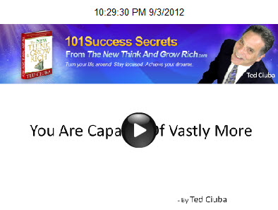 You Are Capable Of Vastly More Accomplishment And Money