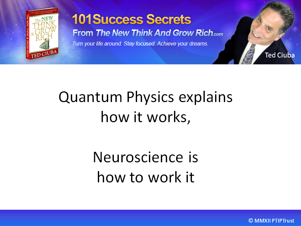 Quantum Physics Explains How It Works – Neuroscience How To Work It