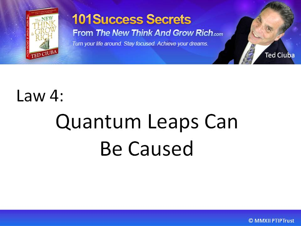 Quantum Leaps Can Be Caused