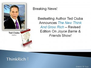 Breaking News On Availability Of The New Think And Grow Rich Revised Edition