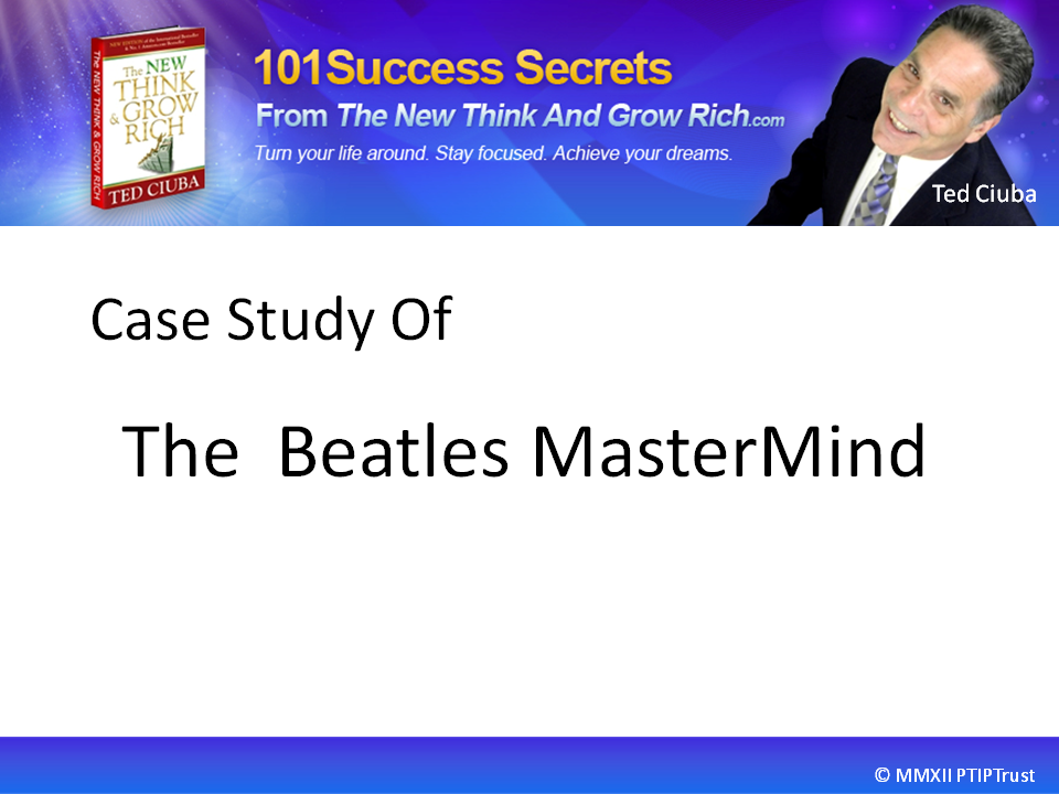 Case Study Of The Beatles MasterMind
