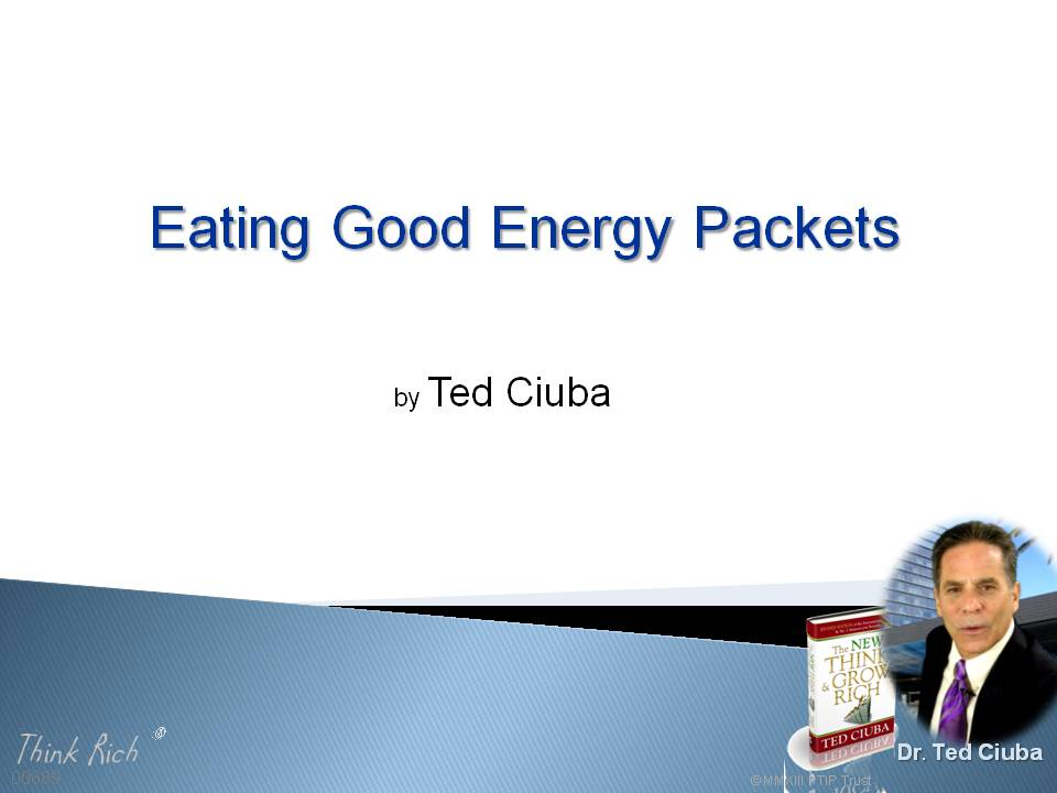 Eating Good Energy Packets
