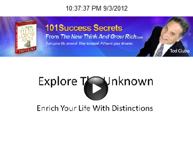 Explore The Unknown, Enrich Your Life With Distinctions