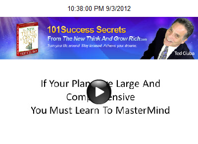If Your Plans Are Large And Comprehensive You Must Learn To MasterMind