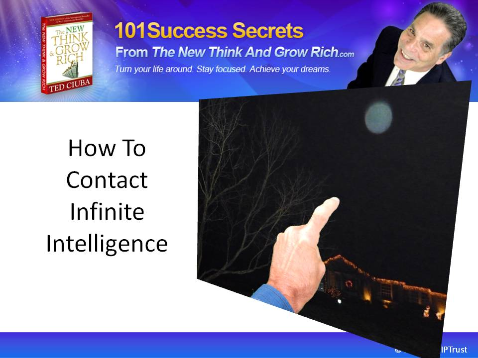 How To Contact Infinite Intelligence
